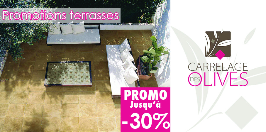 Promotions terrasses